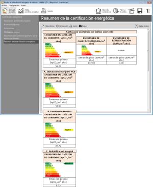 Estudio de rehabilitación energética de edificios. Calificación energética del edificio existente
